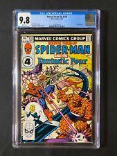 Marvel Team-Up #133 CGC 9.8 (1983) - Fantastic Four & Spider-Man