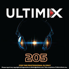 Ultimix 205 CD Ultimix Records Lady Gaga Idina Menzel Ed Sheeran Calvin Harris