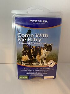 PREMIER Petsafe Come With Me Kitty Harness and Bungee Leash - Medium Red