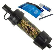 Nouveau camo Sawyer mini filtre à eau SP107 Sawyer détaillant européenne approuvé