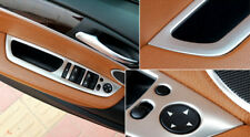 For BMW X5 E70 2008-2013 Inner Window Lift Switch Button Cover Trim Steel 4pcs