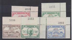 ph907 JORDANIAN OCCUPATION 1948 Mint UPU set opt Palestine-sheet markings