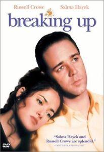 Breaking Up (DVD) 1997 RUSSELL CROWE - SALMA HAYEK - RARE COMEY ROMANCE MOVIE
