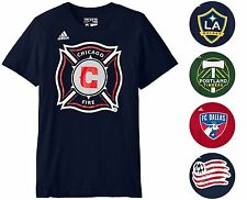 MLS Soccer Team Men's S-2XL adidas Graphic Logo T-Shirt Pick Your Team A9MLB