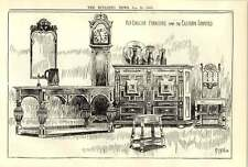 1900 Old English Furniture From The Eastern Counties