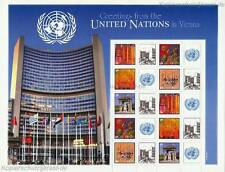 UNO WIEN - 2011 GRUSSMARKEN BOGEN 724-28 KUNST INTERNATIONAL 0,70 - S 43
