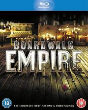 Boardwalk Empire Complete First Second & Third Season 1-3 Box Set Blu Ray New