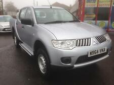 14/64 Mitsubishi L200 2.5DI-D CR 4WD Double Cab Pickup 4Life ONLY 4,900 MILES !