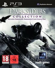 PS3 Game Darksiders Collection with Part 1+2 & Season Pass New