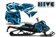 SKI-DOO REV XM SUMMIT SNOWMOBILE SLED CREATORX GRAPHICS KIT WRAP HIVE BLUE ICE