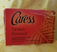 Caress Tahitian Renewal Exfoliating Beauty Soap Bar 4.25 Oz