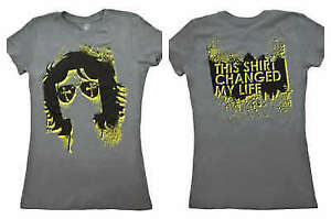 John Morrison Changed My Life Womens Gray WWE T-Shirt New