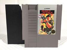 1987 Nintendo NES Rush'N Attack by Konami w. Sleeve Tested Working Near Mint