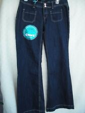 e5d19fa0153d3 Ariya Jeans Curvy Cut Fit Flare Stretch Size 9 10 11 Waist
