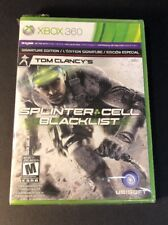 Tom Clancy's Splinter Cell Blacklist [ Signature Edition ] (XBOX 360) NEW