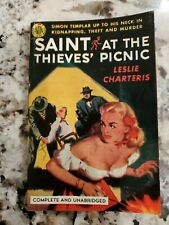 "Leslie Charteris, Saint at the Thieves' Picnic,"" 1952, Avon 440, VG+"