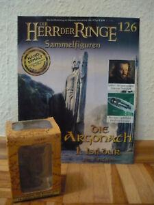Herr der Ringe Sammelfigur:Die Argonath 1:Isildur am Anduin (Nr. 126) +OVP+Heft