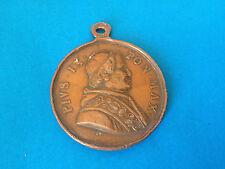 Ancienne Médaille Cuivre PIUS IX PON MAX / Antique Copper Medal