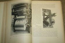 altes Fachbuch Rotationsdruck, Buchdruck, Druckerei, Drucktechnik, DDR 1952