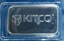 Vintage Kitco Metals 1 Ounce .9999 Silver Bar - Sealed - No Longer Available!