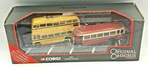 Corgi Original Omnibus Dorset Delights Set Bus Coach 45001 Diecast 1:76 Model