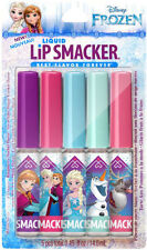 NIP Disney Frozen Liquid Lip Smacker 5 Piece Set Sugar Snowflake Apple Pie Etc