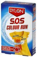 DYLON SOS Colour Run Remover Restore Colour Runs 2 x 75ml Sachets