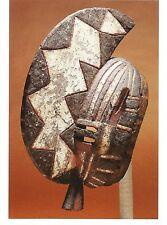 Postcard Africa Burkina Faso Bwa People Mask Brooklyn Art Museum MINT