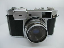 Very Rare!! ROYAL Tominor 35-M 45mm f2.8 Rangefinder Camera w/Cap