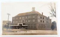 ".c1930s MURRAY STUDIOS REAL PHOTO POSTCARD. ""HOTEL CANBERRA, TOOWOOMBA, QLD"""