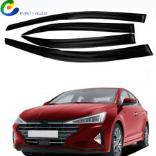 Window Vent Visor Sun Rain Guards 4Pc for 2017-2019 Hyundai Elantra Sedan (Fits: Hyundai Elantra)
