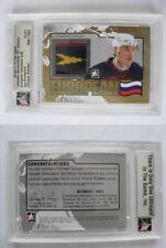 2010-11 ITG Ultimate Ilya Kovalchuk 1/1 european influence gold 1 of 1