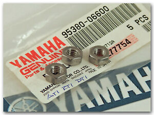 GENUINE YAMAHA 250 DT1 DT1MX 360 RT1 RT1MX 3 6mm HEX NUTS FIT NUMEROUS LOCATIONS