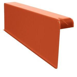 Windschutz-Ortgänge Ortgang Ortgangblech Aluminium 6/16 + Schraube