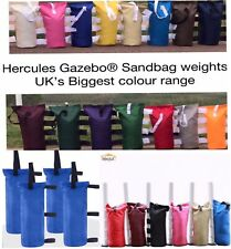 More details for 4x hercules gazebo sand bags leg weights, for heavy duty pop up gazebo marquee
