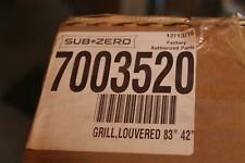 Sub-Zero 7003520 83 Inch Height Classic Louvered Grille Refrigeration Accessory