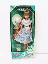 Takara Japan SWEET COUNTRY Barbie Fashion Doll Kawaii Original Box RARE Vintage
