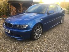 BMW 3 Series E46 320d M Sport Estoril Blue with Harmon Kardon Sound System