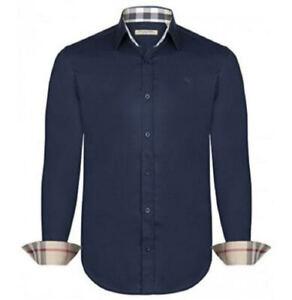 Camicia Burberry Brit Blu  100% Originale