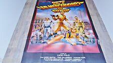 lucio fulci 2072 LES MERCENAIRES DU FUTUR !  affiche cinema no mad max