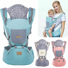 Ergonomic Infant Baby Carrier With Hip Seat Adjustable Wrap Sling Backpack Pack