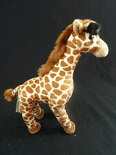 Giraffe 11 inch Standing Realistic Stuffed Plush Toy Animal NEW Unipak UP9944GI