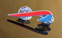 Pin BRITISH AIRWAYS RED & BLUE RIBBON New Logo Pin for Pilots Crew