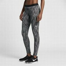 NIKE PRO HYPERWARM WOMEN'S TRAINING TIGHTS WHITE/BLACK/WHITE (831931-100) LARGE