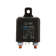 12V 200A Heavy Duty Split Charge ON/OFF Switch Relay Set For Car Truck Auto Boat