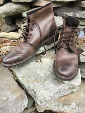 mens leather boots Kenneth Cole Vero Cuoio Italy size 11.5