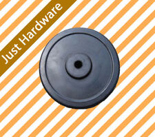 """6"""" Solid Rubber Wheel For Jockey Wheel Replacement"""