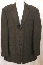 Giorgio Armani Jacket 3 Button Wool /cashmere Grey Pattern Size 56R