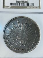 1880/70-DOTB Mexico 8 Reales Graded AU 50 by NGC!!!