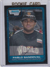 Pablo Sandoval RC CARD San Francisco Giants 2006 BOWMAN CHROME BASEBALL ROOKIE